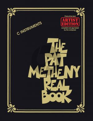 The Pat Metheny Real Book (all C instr.)
