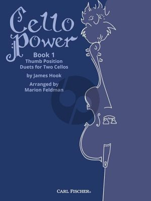 Hook Cello Power Book 1 Thumb Position Duets for Two Cellos (edited by Marion Feldman)
