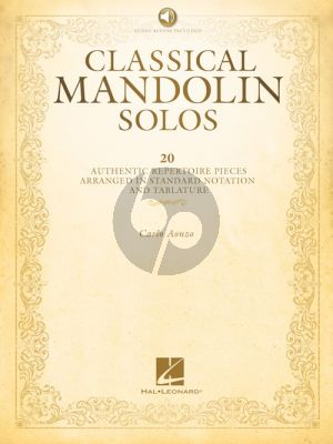 Aonzo Classical Mandolin Solos (Book with Audio online) (incl. tab.)