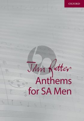 Anthems for SA-Men Vocal Score