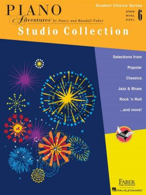 Faber Piano Adventures: Studio Collection -Level 6 (Student Choice Series)