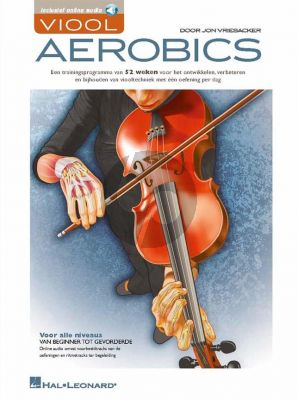 Vriesacker Viool Aerobics (Boek met Audio online) (all levels)