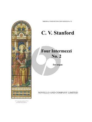 Stanford 4 Intermezzi Op.189 No.2 Marcia Eroica Organ