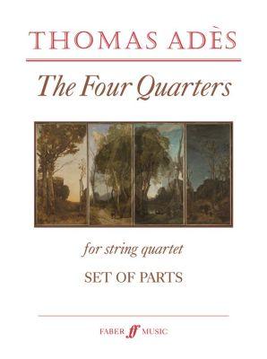 Ades Four Quarters String Quartet Set of Parts