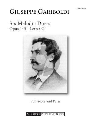 Gariboldi 6 Melodic Duets Op.145 Letter C 2 Flutes (Score/Parts)