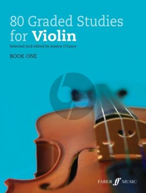 80 Graded Studies for Violin Book 1 (ed. Jessica O'Leary)