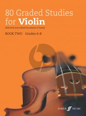 80 Graded Studies for Violin Book 2 (ed. Jessica O'Leary)