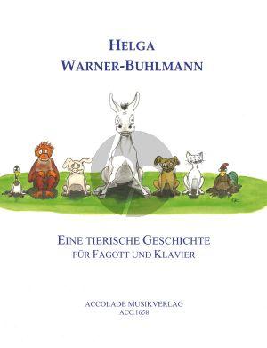 Warner-Buhlmann Eine tierische Geschichte Fagott-Klavier