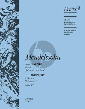 "Mendelssohn Symphony No.5 d-minor MWV N.15 ""Reformation"" Full Score (edited by Thomas Schmidt)"