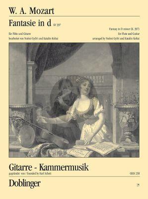 Mozart Fantasie d-moll KV 397 Flöte-Gitarre (transcr. Noémi Györi / Katalin Koltai)