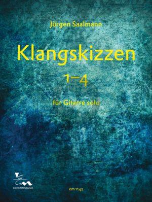 Saalmann Klangskizzen 1-4 Guitar solo