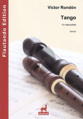 Rondón Tango Altblockflöte solo