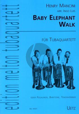 Mancini Baby Elephant Walk 4 Tubas (Part./Stimmen) (transcr. Ingo Luis)