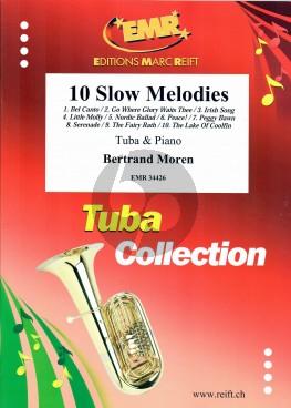 Moren 10 Slow Melodies Tuba-Piano