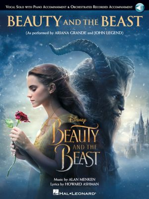 Menken Beauty and the Beast Piano-Vocal (Book with Audio online)
