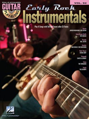 Early Rock Instrumentals (Guitar Play-Along Series Vol.92) (Book with Audio online)