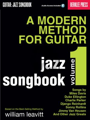 Baione A Modern Method for Guitar – Jazz Songbook Vol.1 (Book with Audio online)