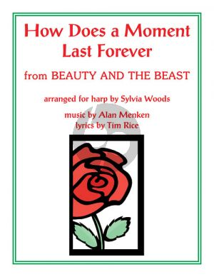 Menken How Does a Moment Last Forever (from Beauty and the Beast) Harp (arr. Sylvia Woods)