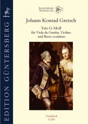 Gretsch Trio G-minor Viola da Gamba-Violin and Basso (Score/Parts) (edited by Fritzsch and von Zadow)