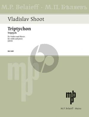 Shoot Triptych for Violin and Piano