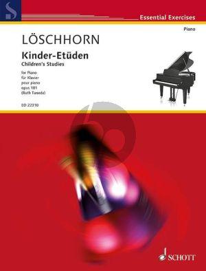 Loeschhorn Kinder-Etüden Op.181 Klavier (Ruth Taneda)