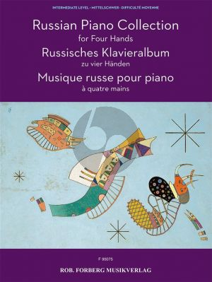 Russian Piano Collection for Piano 4 Hands