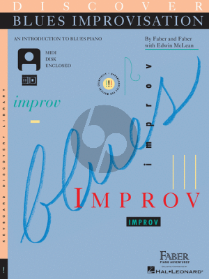 McLean Discover Blues Improvisation (An Introduction to Blues Piano) (Bk-Cd)