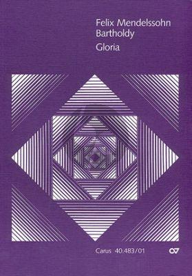 Mendelssohn Gloria Es-dur MWV A 1 Soli-Chor-Orchester Partitur (ed. Pietro Zappalà)