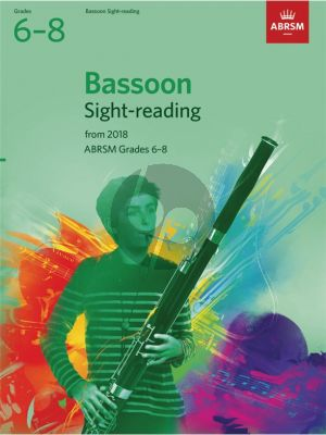 Bassoon Sight-Reading Tests, ABRSM Grades 6-8 from 2018