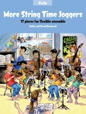 Blackwell More String Time Joggers Violin book