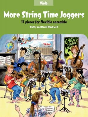 Blackwell More String Time Joggers Viola book