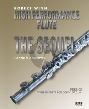 Winn High Performance Flute - The Sequel (Bk-Cd)