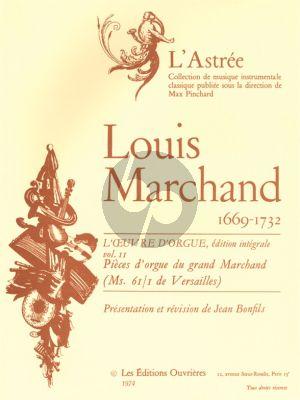 Marchand L'Oeuvre d'Orgue Vol.2 (edited Jean Bonfils)