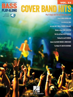 Cover Band Hits (Bass Play-Along Series Vol.32) (Book with Audio online)
