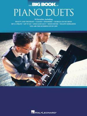 The Big Book of Piano Duets (intermediate level)