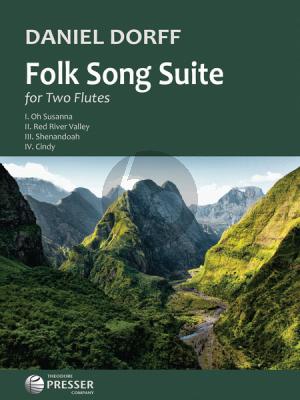 Dorff Folk Song Suite 2 Flutes
