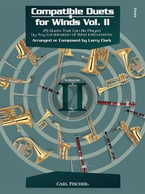 Compatible Duets for Winds Vol.2 Flute (edited by Larry Clark)