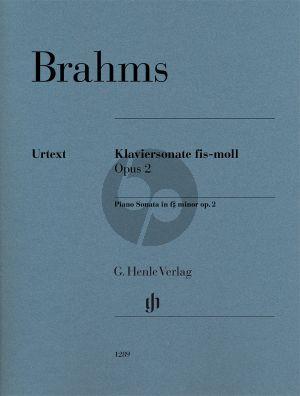 Brahms Sonate fis-moll Op.2 Klavier (Katrin Eich) (Henle-Urtext)