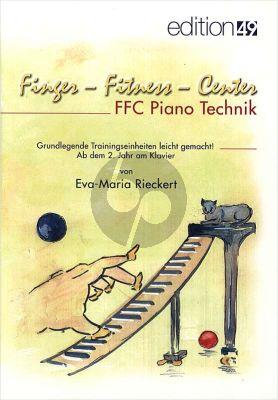 Rieckert Finger Fitness Center (Grundlegende Trainingseinheiten ab dem 2.Jahr am Klavier)