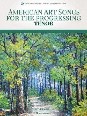 American Art Songs for the Progressing Singer - Tenor (Book with Audio online)