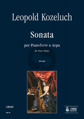 Kozeluch Sonata for Piano (or Harp) (edited by Anna Pasetti)
