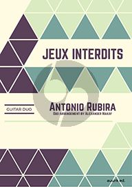 Rubira Jeux Interdits 2 Guitars (arr. Alexander Makay)