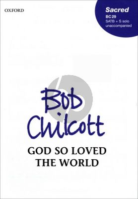 God So Loved the World Soprano Solo-SATB