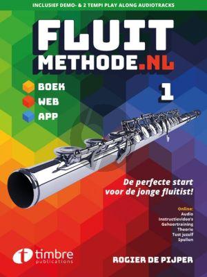 Pijper Fluitmethode.nl Vol.1 (Boek met Audio)