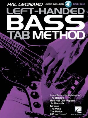 Wills Left-Handed Bass Tab Method Book 1 (Book with Audio online)