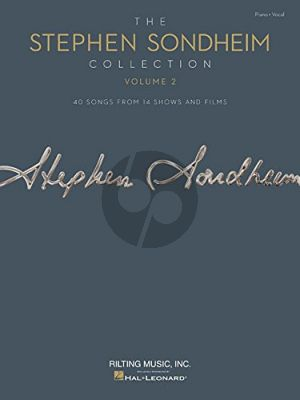 The Stephen Sondheim Collection Vol.2 40 Songs from 14 Shows and Films Piano-Vocal