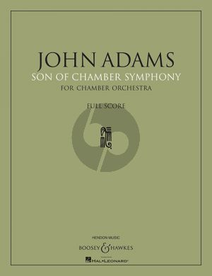 Adams Son of Chamber Symphony Chamber Ensemble Score