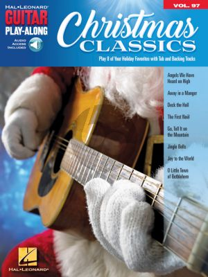 Christmas Classics (Guitar Play-Along Series Vol.97) (Book with Audio online)