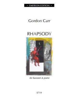 Carr Rhapsody Bassoon-Piano