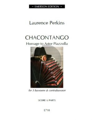 Perkins Chacontango 5 Bassoons-Contrabassoon (Score/Parts)